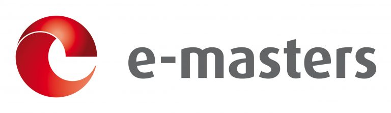 Logo e-masters 3D RGB