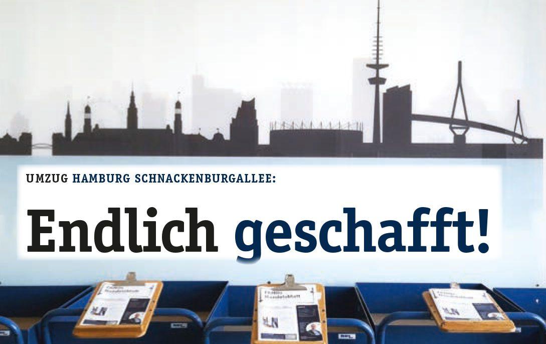 Umzug FAMO-Hamburg