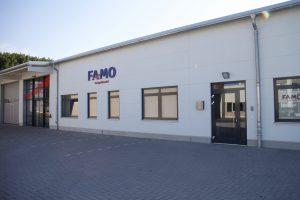 Außenansicht FAMO-Niederlassung Lübeck