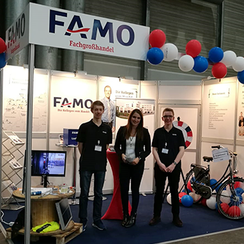 FAMO Messestand job4u